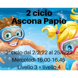 Ascona Papio 2° ciclo dal...
